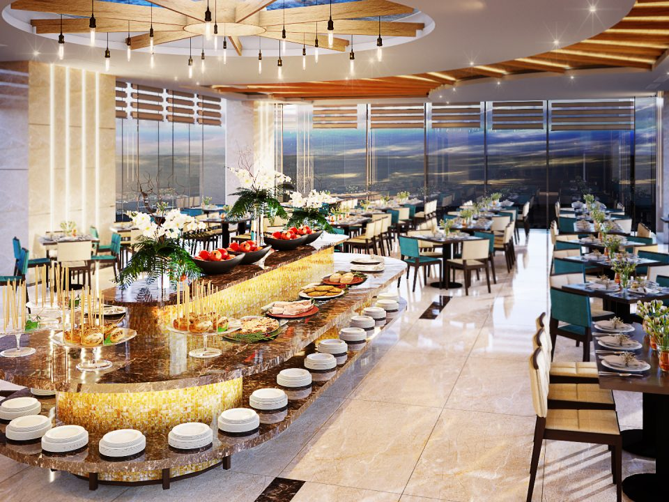 TOP DANANG HOTEL WITH THE BEST BREAKFAST BUFFET SERVICE
